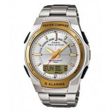 Наручные Мусульманские часы Casio / Касио CPW-500HD-7a c компасом