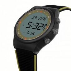 Наручные молодежные мусульманские часы alfajr / альфаджр WY-16 BLKGRN