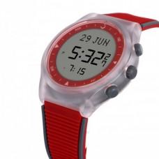 Наручные молодежные мусульманские часы alfajr / альфаджр WY-16 RDGRY красные