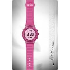 Наручные молодежные мусульманские часы alfajr / альфаджр WY-16 розовые