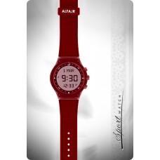 Наручные молодежные мусульманские часы alfajr / альфаджр WY-16 красные