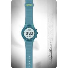 Наручные молодежные мусульманские часы alfajr / альфаджр WY-16 бирюзовые