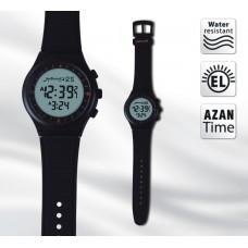 Наручные молодежные мусульманские часы al Harameen / аль Харамин HA-6506 BW